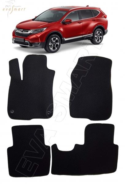 Honda CR-V V 2016 - н.в. коврики EVA Smart