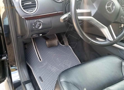 Mercedes-Benz GL-класс I (X164) 5 мест 2006 - 2012 коврики EVA Smart