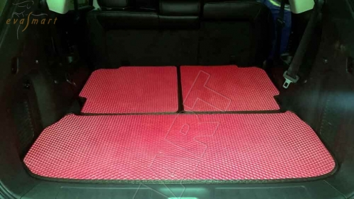 Nissan Pathfinder IV (R52) 7 мест 2014 - н.в. коврики EVA Smart
