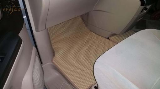 Toyota Alphard II правый руль 2008 - 2014 Автоковрики 'EVA Smart'