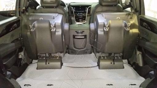 Cadillac Escalade IV 7 мест 3D 2014 - н.в. коврики EVA Smart