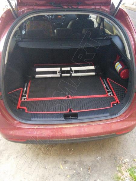 Коврик багажника EVA Smart для Kia Ceed II универсал 2012 -