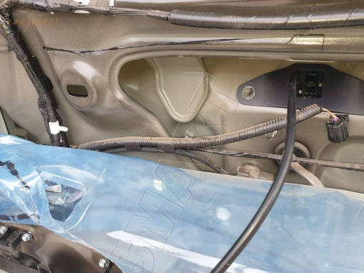 Toyota Land Cruiser Prado 150 2009 - 2013 омыватель камеры заднего вида