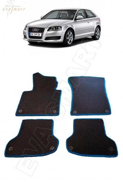 Audi A3 (8Р) 2003 - 2008 коврики EVA Smart