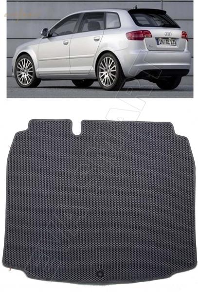 Audi A3 (8P) хэтчбек 2008 - 2013 коврик в багажник EVA Smart