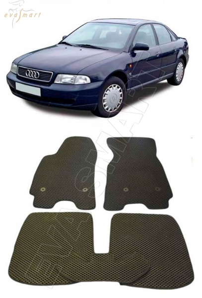Audi A4 (8D, B5) 1995 - 2001 коврики EVA Smart