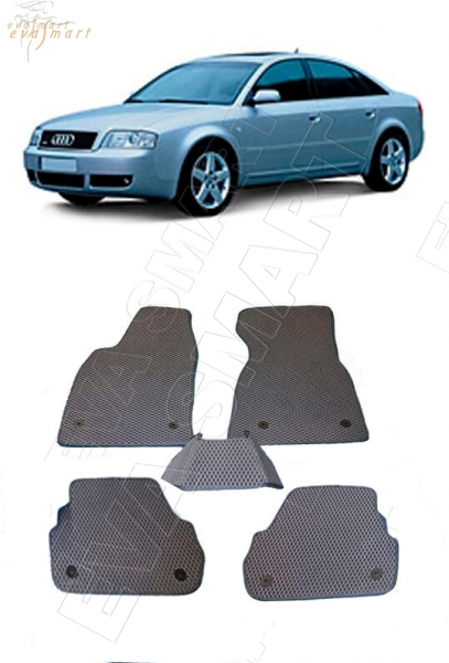 Audi A6 (C5, 4B) 1997 - 2004 коврики EVA Smart