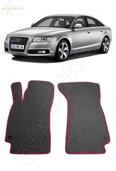 Audi A6 (C6, 4F) 2004 - 2011 коврики EVA Smart