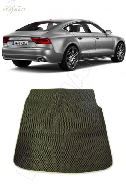 Audi A7 I багажник 2010 - н. в. Автоковрики 'EVA Smart'