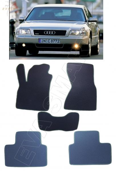 Audi A8 (D2) 1994 - 2002 коврики EVA Smart