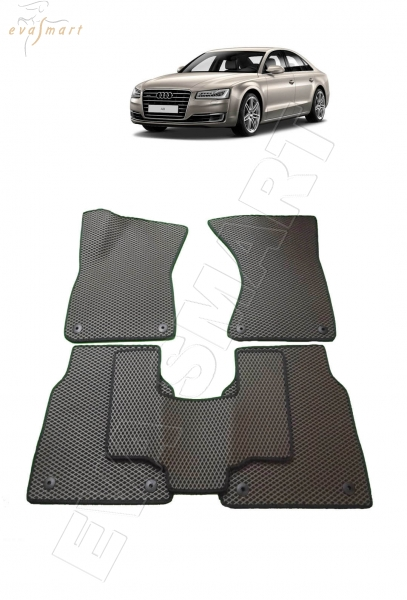 Audi A8 (D4) Long 2013 - 2017 коврики EVA Smart