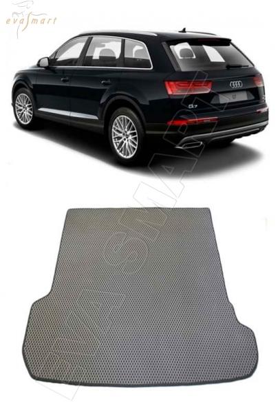 Audi Q7 II  2015 - Коврик багажника EVA Smart
