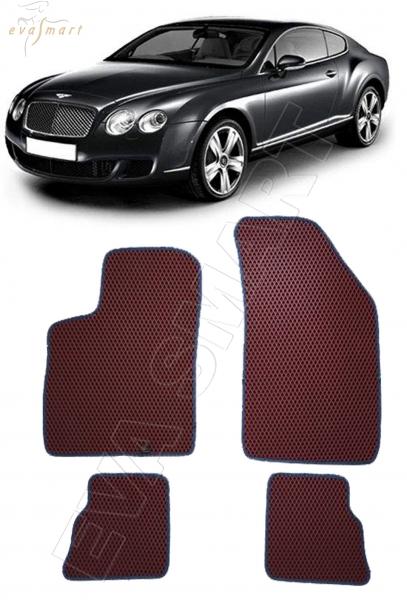 Bentley Continental GT I купе 2003 - 2011 коврики EVA Smart