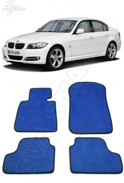 BMW 3 (E90-E91) 2005-2012 Автоковрики 'EVA Smart'