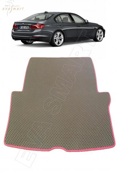 BMW 3 (F30, F31) 2012 - н.в. коврики EVA Smart