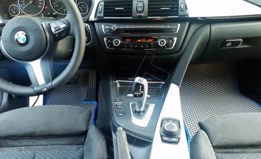 BMW 3 (F30, F31) 2012- н. в. Автоковрики 'EVA Smart'