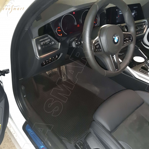 BMW 3 (G20) 2018 - н.в. коврики EVA Smart