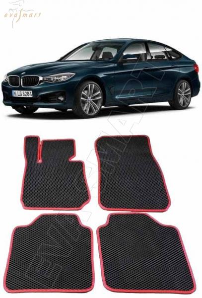 BMW 3 (F34) GT 2013 - н.в. коврики EVA Smart