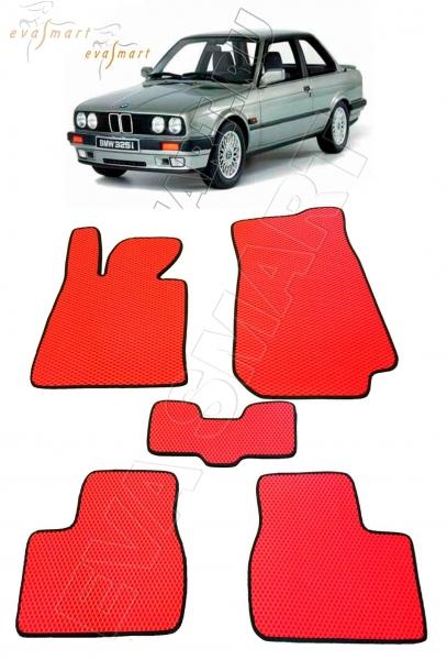 BMW 3 II (E30) 1982 - 1994 коврики EVA Smart