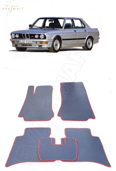 BMW 5 (E28) 1981 - 1987 Автоковрики 'EVA Smart'