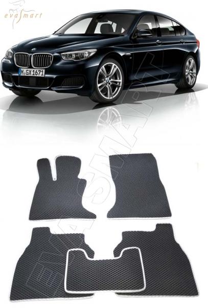 BMW 5 Gran Turismo (F07) 2009-2013 Автоковрики 'EVA Smart'