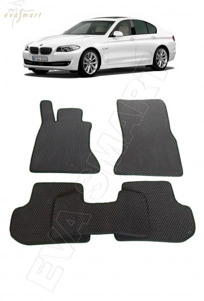 BMW 5 (F10) 2009 - 2017 коврики EVA Smart