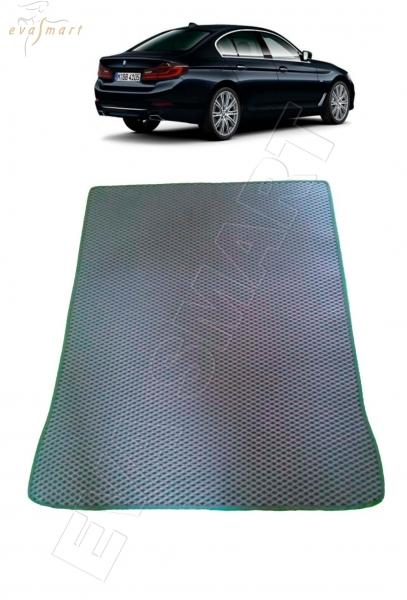 BMW 5 VII (G30) багажник 2016 –  Автоковрики 'EVA Smart'