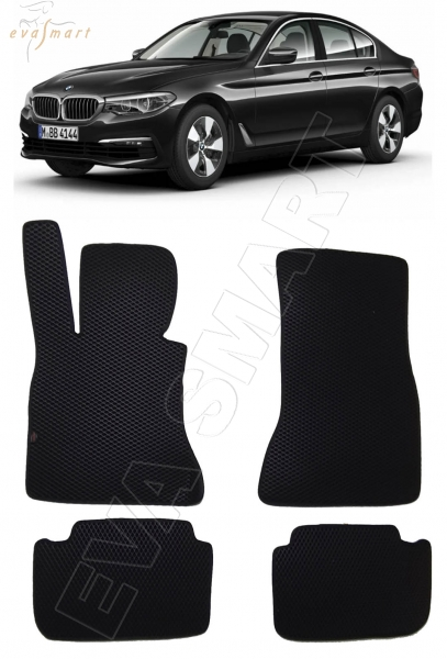 BMW 5 VII (G30, G31) 2016 - коврики EVA Smart