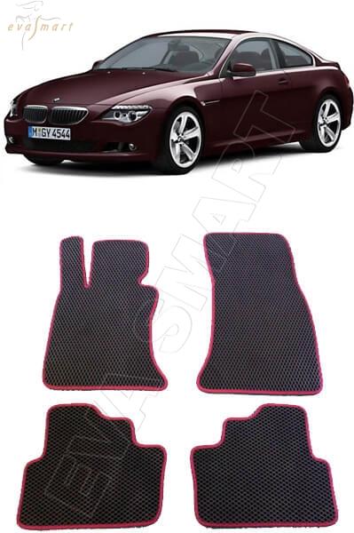 BMW 6 (E63) 2003 - 2010 коврики EVA Smart