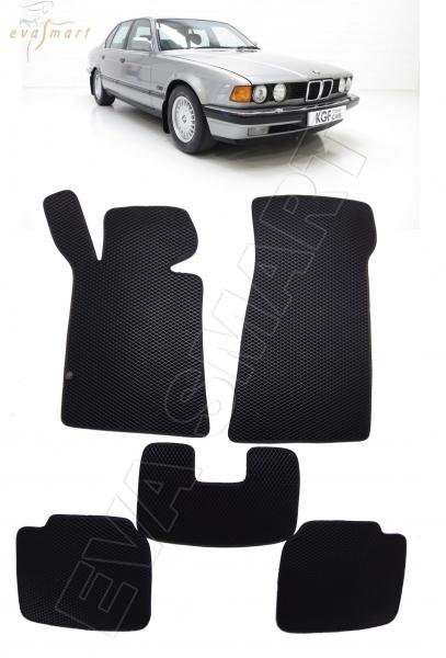 BMW 7 (E32) 1986 - 1994 коврики EVA Smart