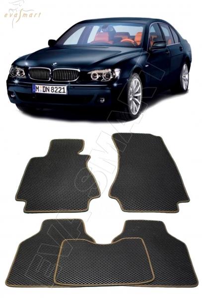 BMW 7 (E65) 2001 - 2008 коврики EVA Smart