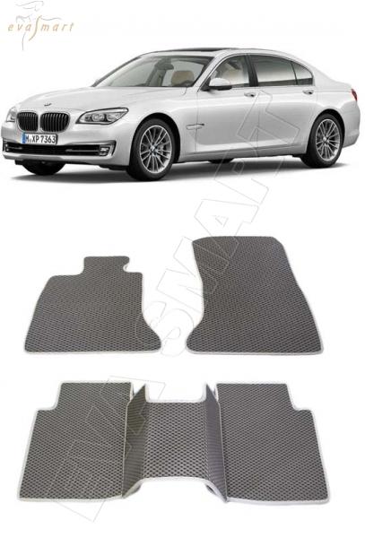 BMW 7 (F01-F04)  2012 - 2015 Автоковрики 'EVA Smart'
