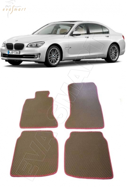 BMW 7(F02, F03) Long 2012 - 2015 Автоковрики 'EVA Smart'