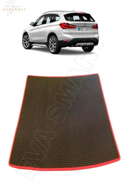BMW Х1 (F48) багажник 2015- н. в. Автоковрики 'EVA Smart'