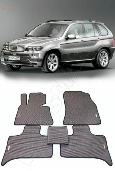 BMW X5 (E53) 2000 - 2007 Автоковрики 'EVA Smart'