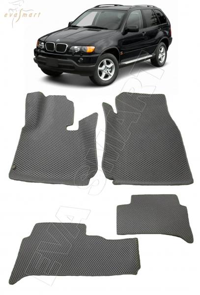 BMW Х5 (E53) вариант макси 3d 2000 - 2007 Автоковрики 'EVA Smart'