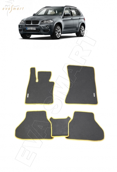 BMW Х5 (E70) 2007 - 2013 коврики EVA Smart