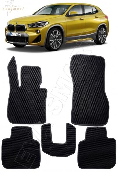 BMW X2 I 2017 - н.в. коврики EVA Smart