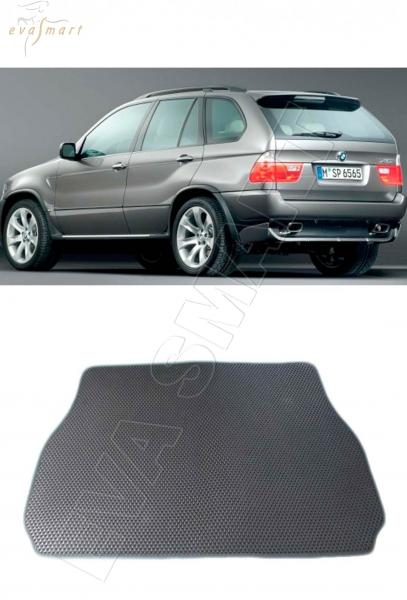 BMW X5 (E53) коврик в багажник 2000 - 2007 EVA Smart