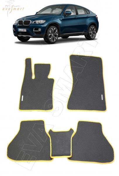 BMW X6 (E71) 2007 - 2014 коврики EVA Smart