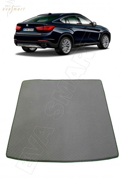 BMW Х6 (F16) багажник 2014- н. в. Автоковрики 'EVA Smart'