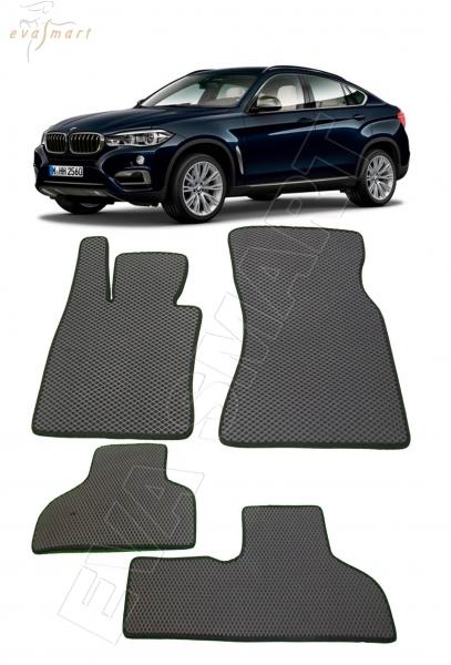 BMW Х6 (F16) 2014- н. в. Автоковрики 'EVA Smart'