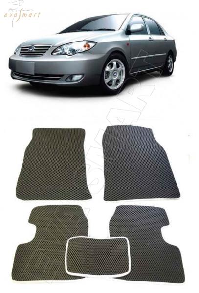 BYD F3 2005- н. в. Автоковрики 'EVA Smart'