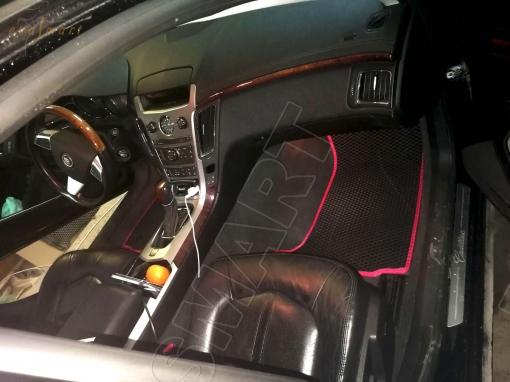 Cadillac CTS ll 2007 - 2014 коврики EVA Smart