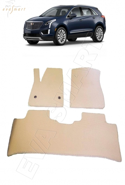 Cadillac XT5 2016 - н. в. Автоковрики 'EVA Smart'
