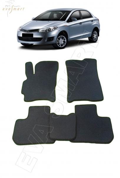 Chery Bonus (A13) 2011 - 2014 Автоковрики 'EVA Smart'