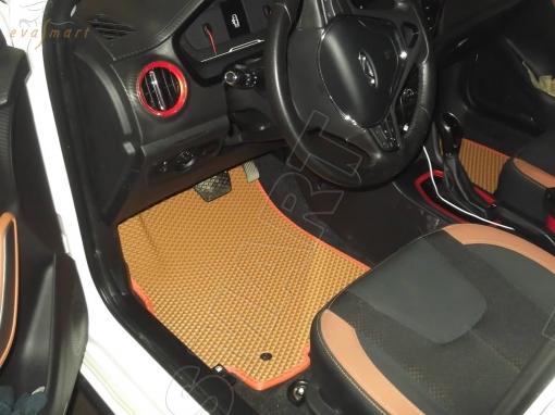 Chery Tiggo 2  2017 - н. в. Автоковрики 'EVA Smart'