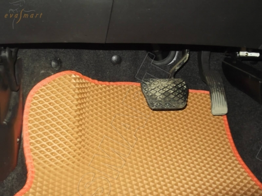 Chery Tiggo 2 2017 - н.в. коврики EVA Smart
