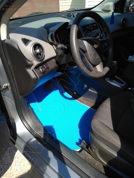 Chevrolet Aveo (T300) 2012 - н.в. коврики EVA Smart