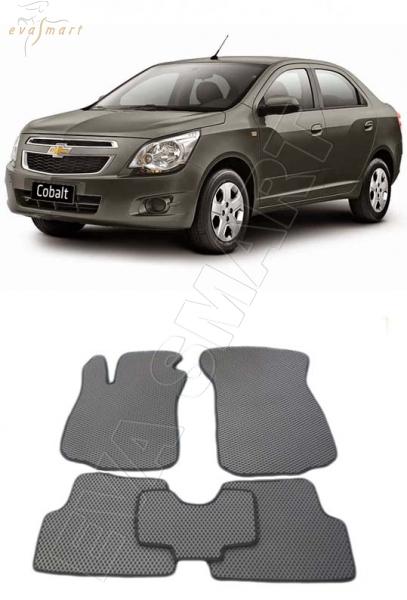 Chevrolet Cobalt II 2011 - н.в. коврики EVA Smart